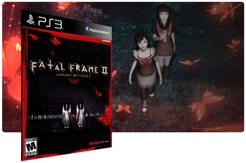 Banner do game Fatal Frame 2: Crimson Butterfly para PS3