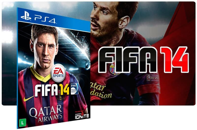 Banner do game Fifa 14 para PS4