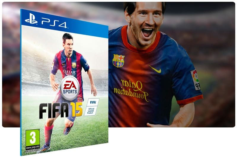 Banner do game Fifa 15 para PS4