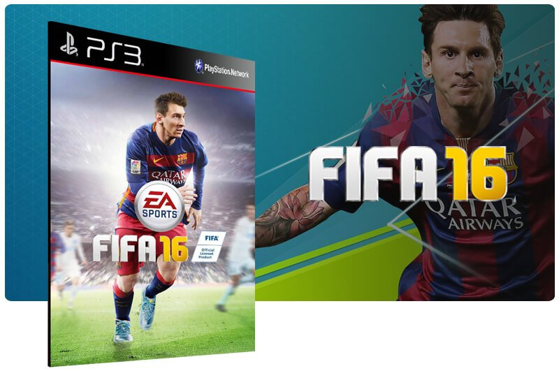 Banner do game Fifa 16 ( Inglês ) para PS3