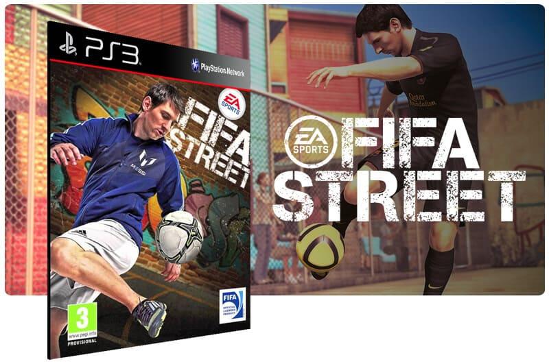 Banner do game Fifa street para PS3