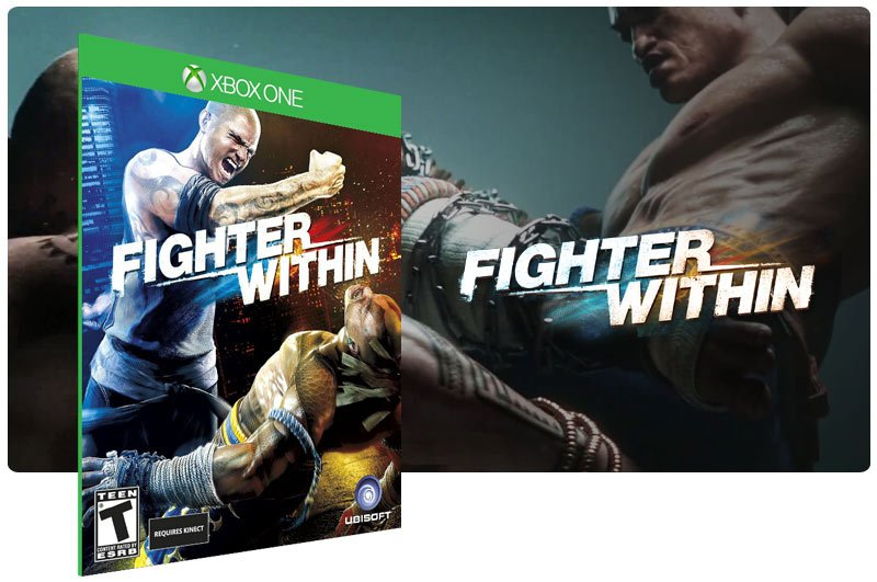 Banner do game Fighter Within em mídia digital para Xbox One