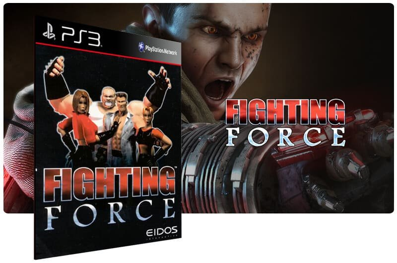 Banner do game Fighting Force (Psone Classic) para PS3