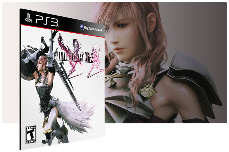 Banner do game Final Fantasy 13 2 para PS3