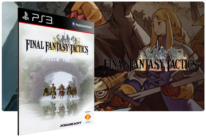 Banner do game Final Fantasy Tactics (Psone Classic) para PS3