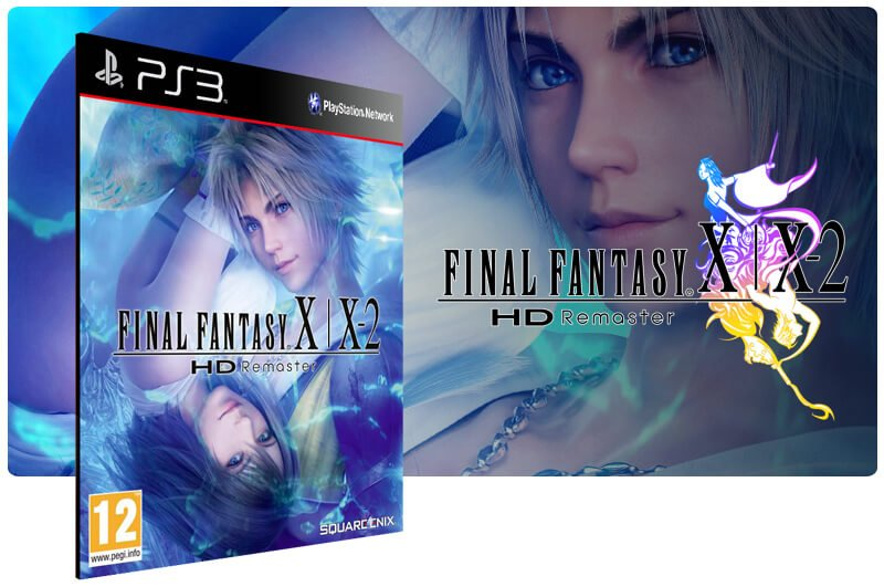 Banner do game Final Fantasy X/X 2 Hd Remaster para PS3