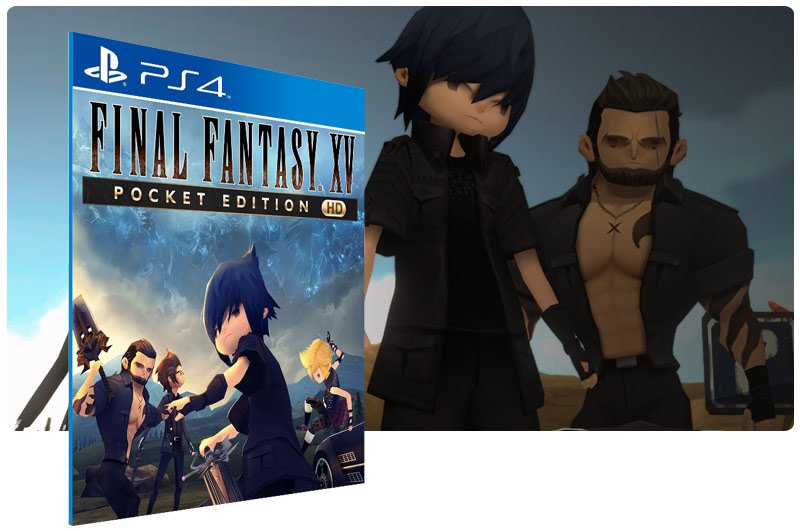 Banner do game Final fantasy XV Pocket Edition HD para PS4