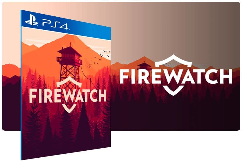 Banner do game Firewatch para PS4