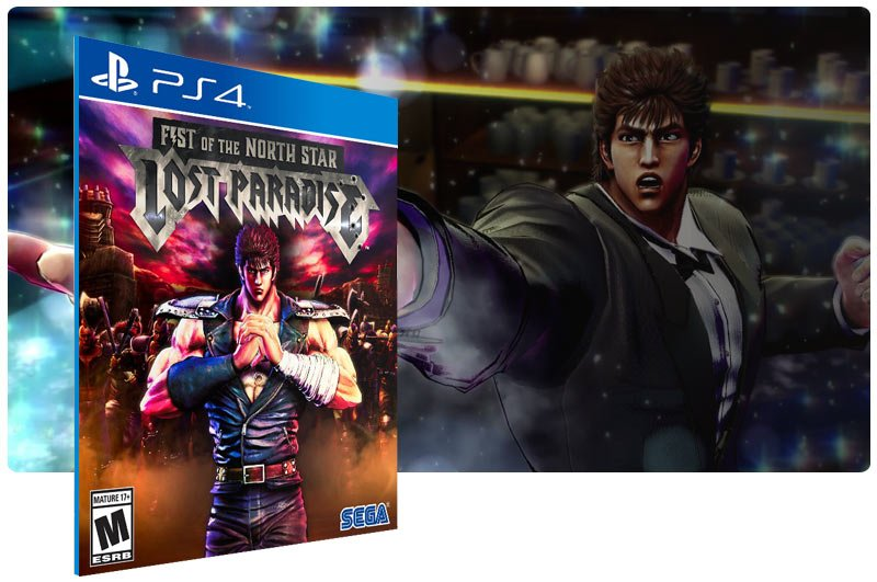 Banner do game Fist of the North Star: Lost Paradise para PS4
