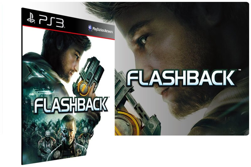 Banner do game Flashback para PS3