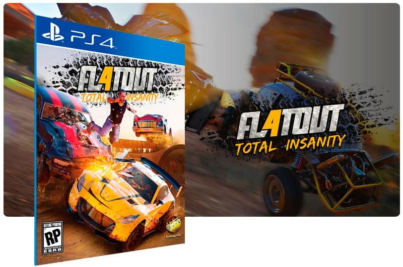 Banner do game Flatout 4: Total Insanity para PS4