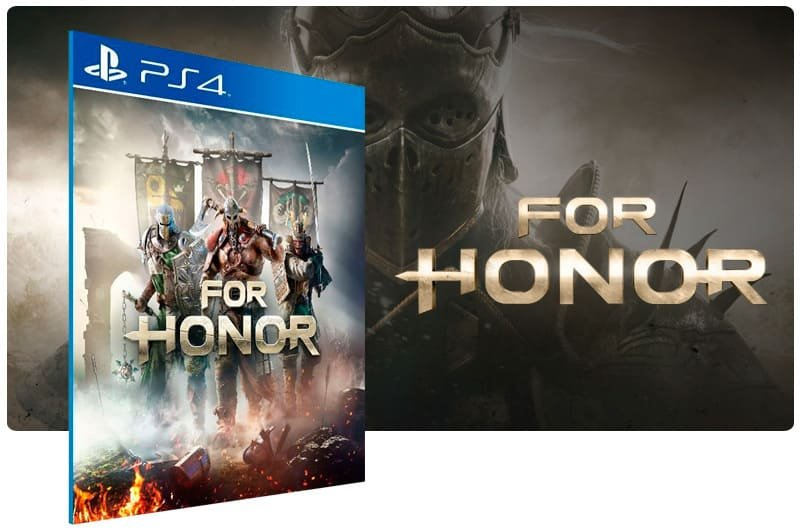 Banner do game For Honor para PS4
