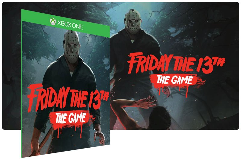 Banner do game Friday The 13Th The Game em mídia digital para Xbox One