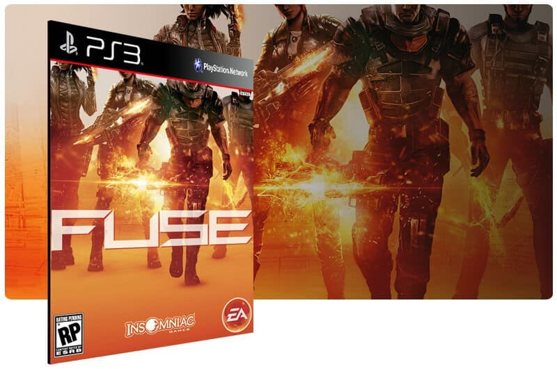 Banner do game Fuse para PS3