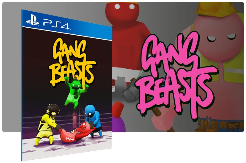 Banner do game Gang Beasts para PS4