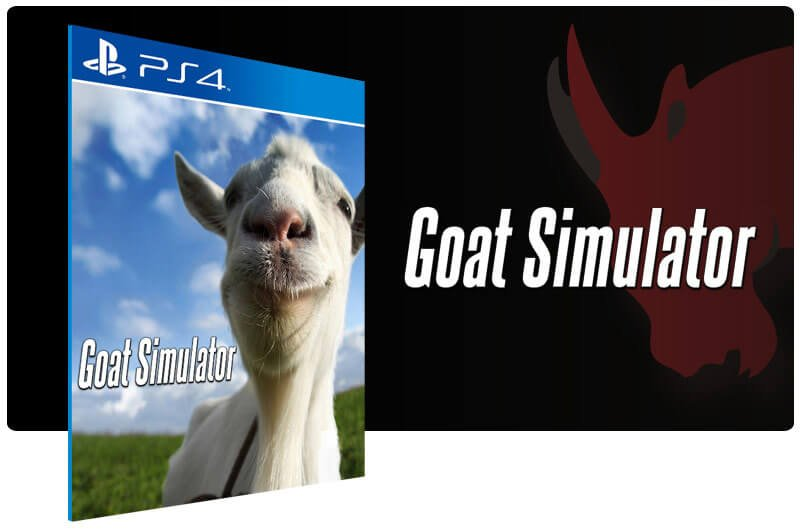 Banner do game Goat Simulator para PS4