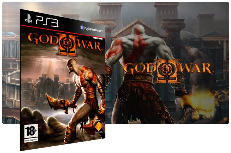 Banner do game God of War 2 Hd para PS3
