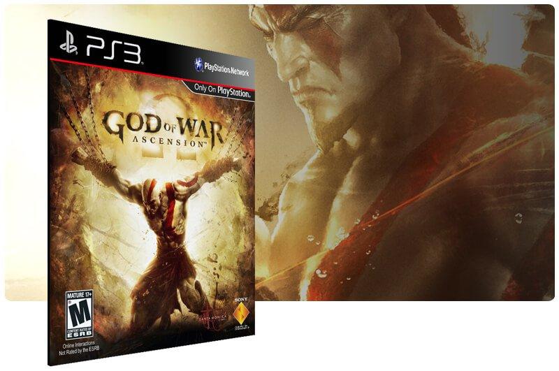 Banner do game God of War: Ascension para PS3