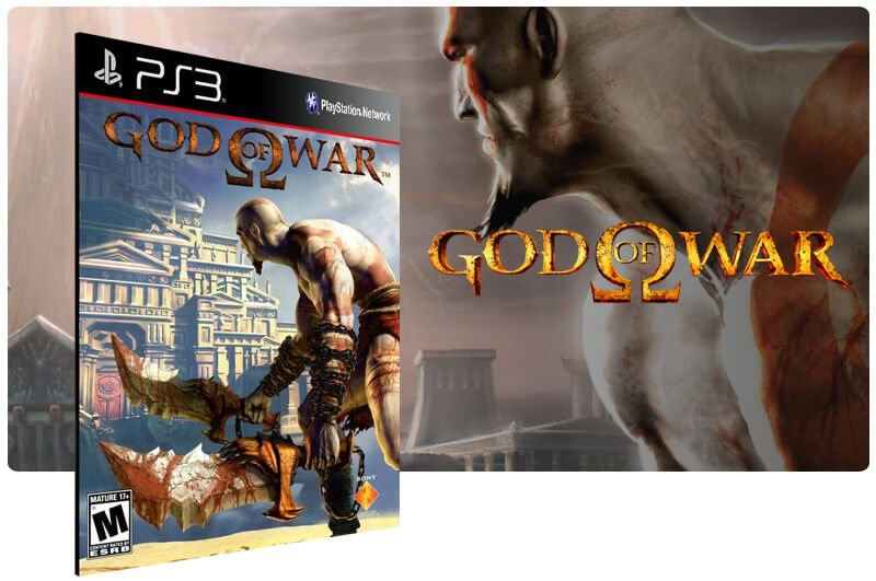 Banner do game God of War Hd para PS3