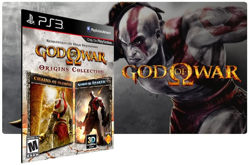 Banner do game God of War: Origins Collection para PS3