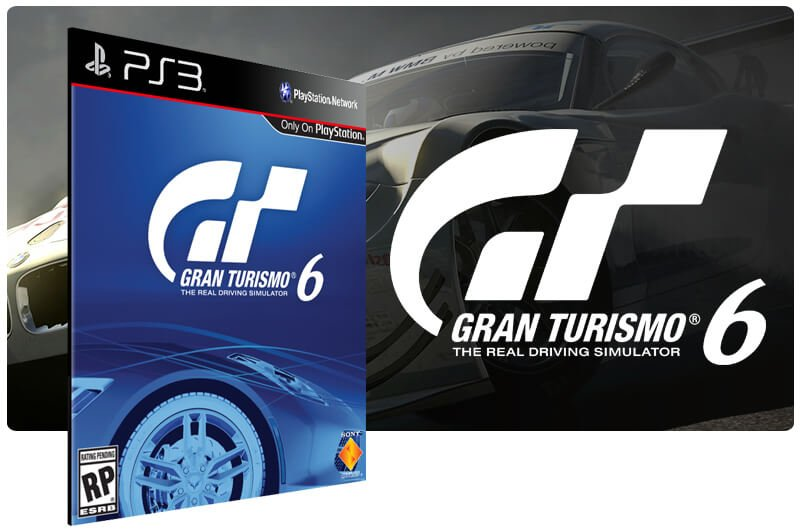 Banner do game Gran Turismo 6 para PS3
