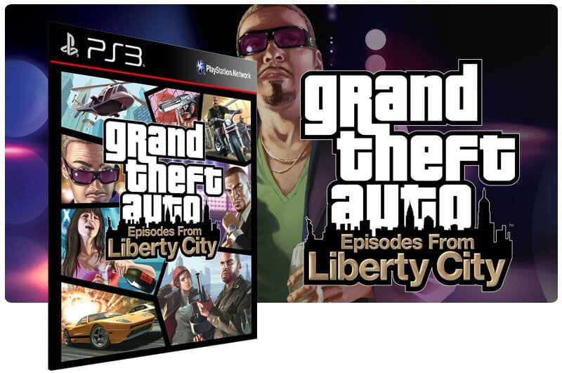 Banner do game Grand Theft Auto Episodes From Liberty City para PS3
