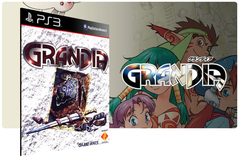 Banner do game Grandia para PS3