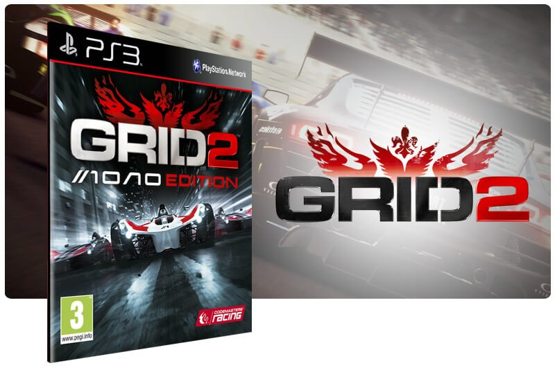 Banner do game Grid 2 Reloaded Edition para PS3