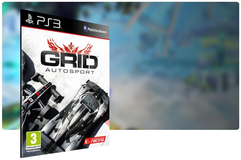 Banner do game Grid Autosport para PS3
