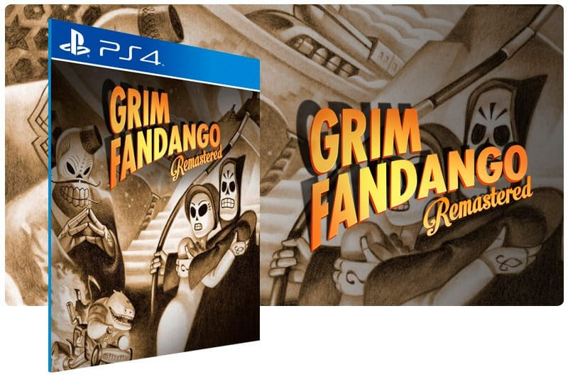 Banner do game Grim Fandango Remastered para PS4