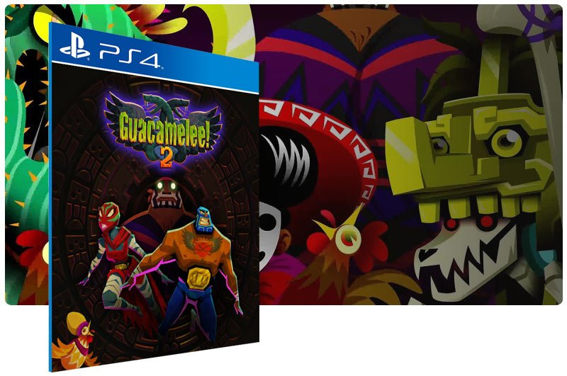 Banner do game Guacamelee 2 para PS4