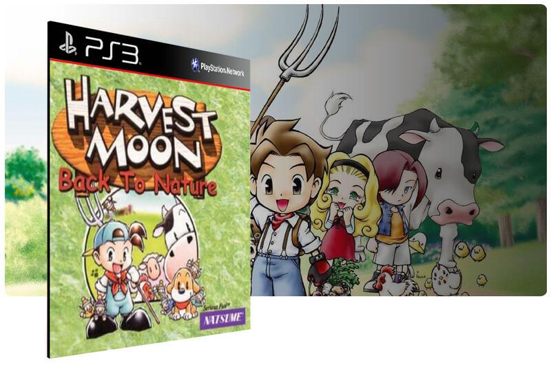 Harvest Moon Back To Nature (Psone Classic) Ps3 Psn Mídia Digital