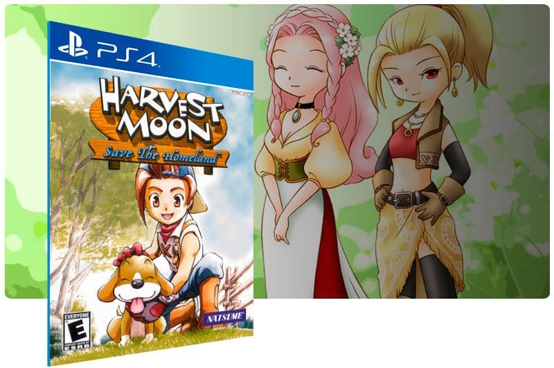 Banner do game Harvest Moon Save The Homeland para PS4