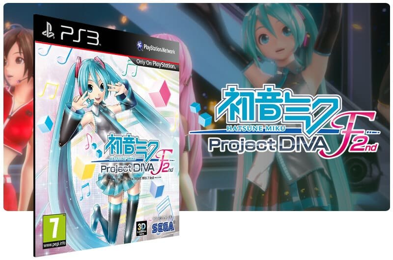 Banner do game Hatsune Miku: Project Diva F 2Nd para PS3