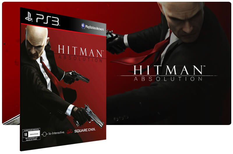 Banner do game Hitman Absolution para PS3