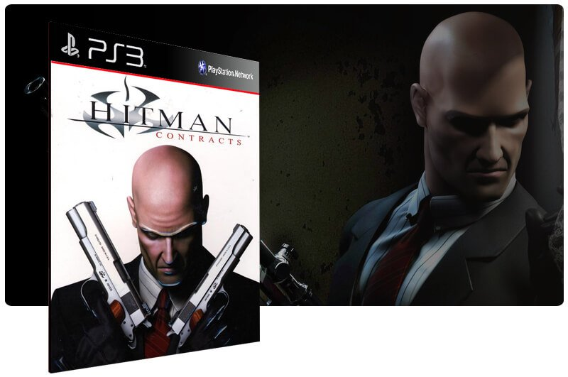 Banner do game Hitman Contracts HD para PS3