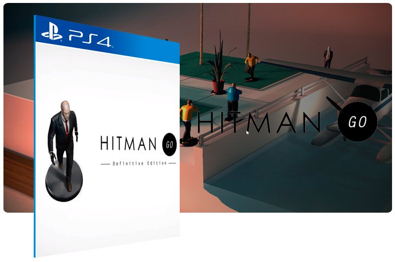 Banner do game Hitman Go Definitive Edition para PS4