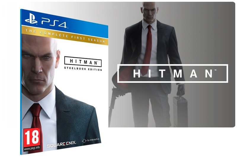 Banner do game Hitman The Complete First Season para PS4
