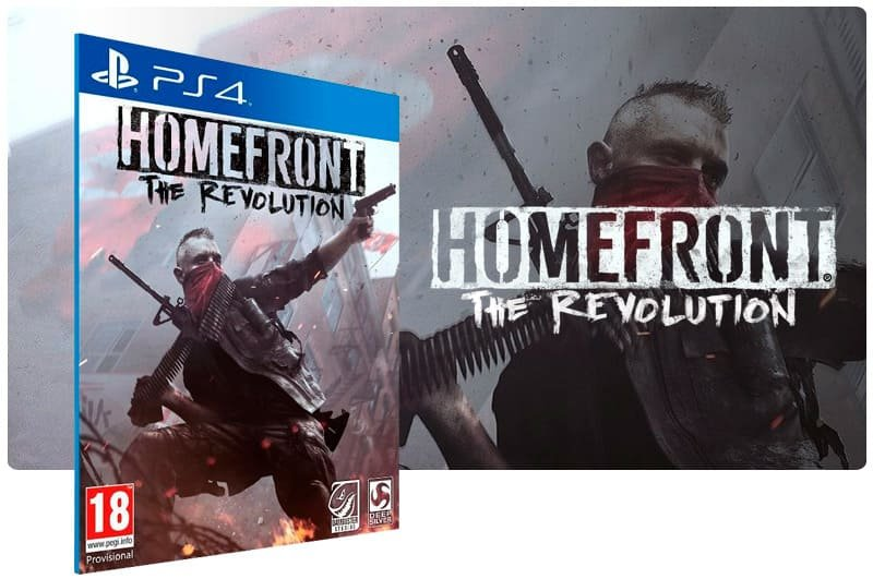 Banner do game Homefront: The Revolution para PS4