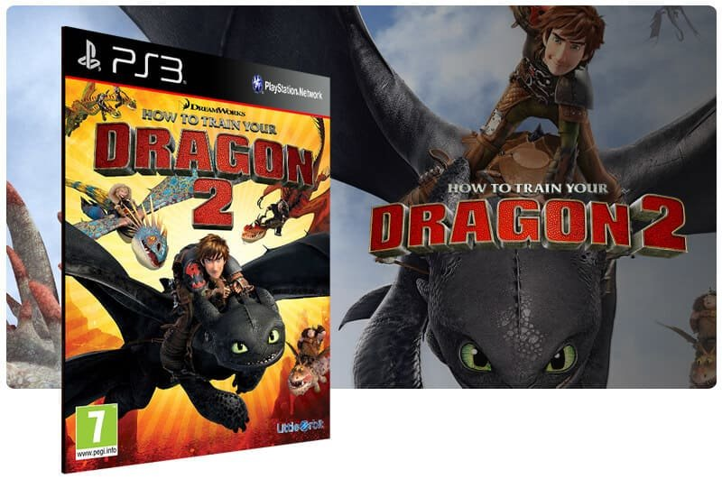 Banner do game How To Train Your Dragon 2 para PS3