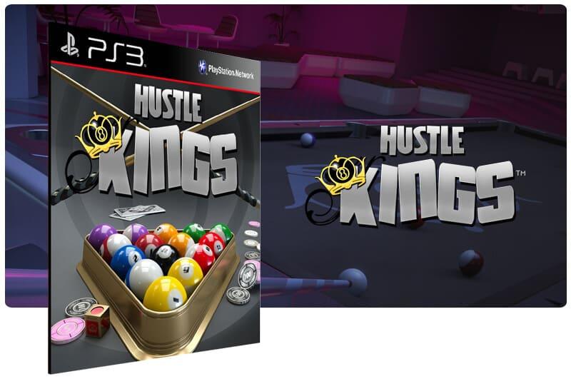 Banner do game Hustle Kings para PS3