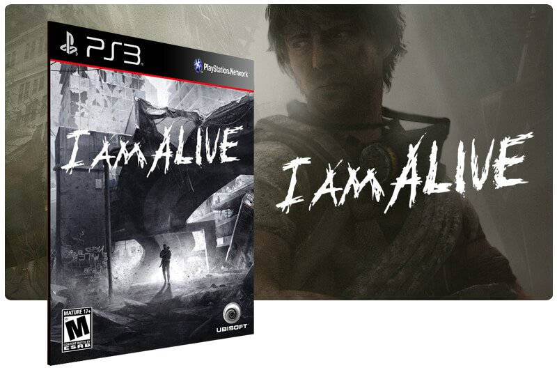 Banner do game I Am Alive para PS3