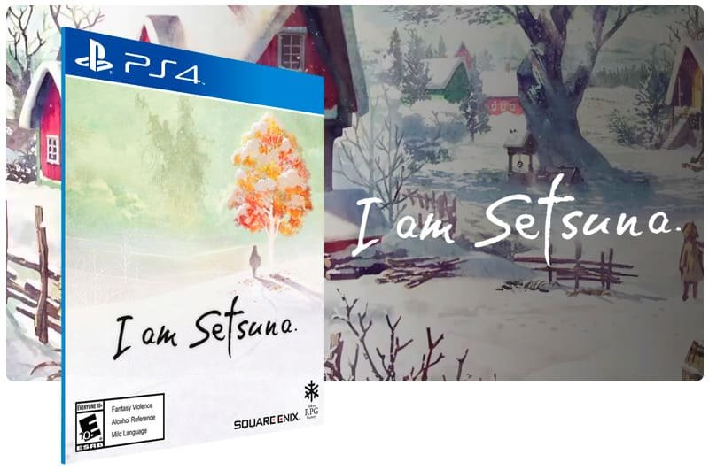 Banner do game I Am Setsuna para PS4