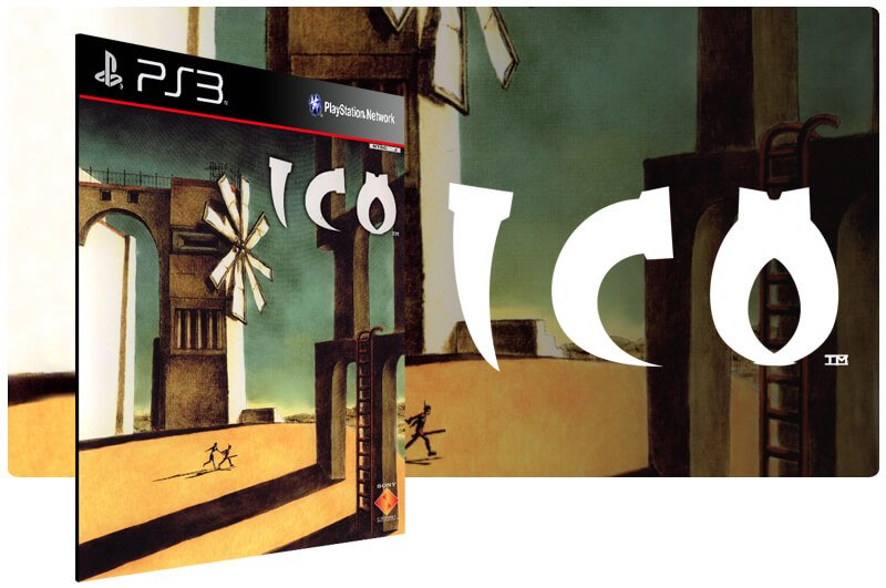 Banner do game Ico para PS3