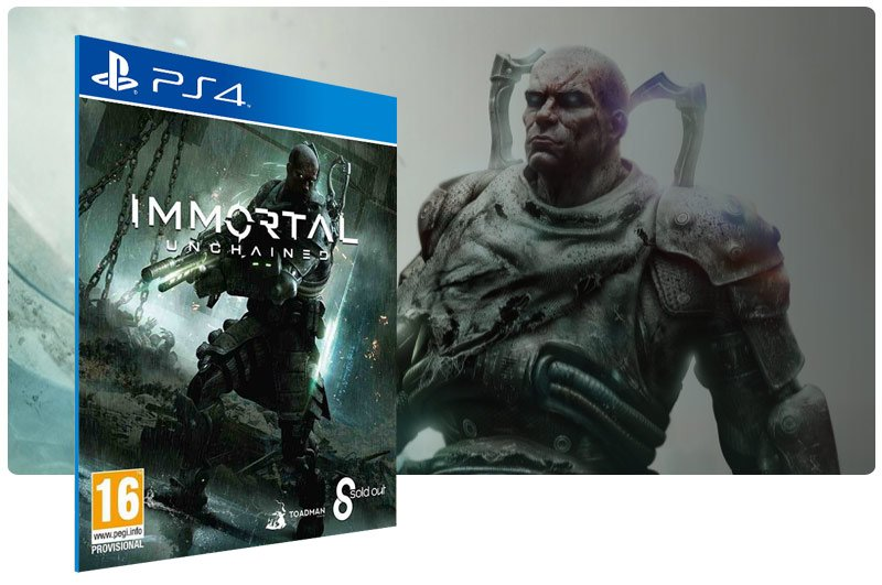 Banner do game Immortal Unchained para PS4