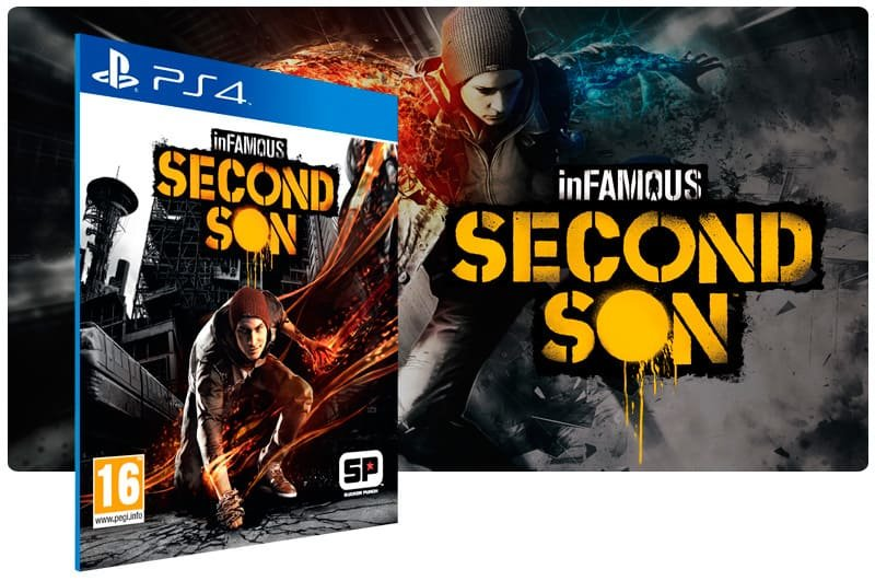 Banner do game Infamous Second Son para PS4