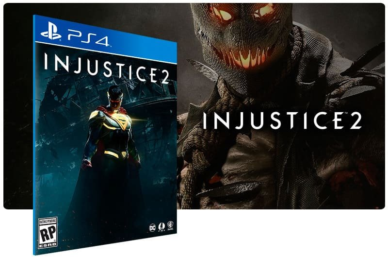 Banner do game Injustice 2 para PS4