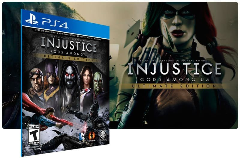 Banner do game Injustice Gods Among Us Ultimate Edition para PS4
