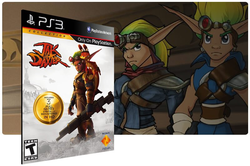 Banner do game Jak And Daxter Collection para PS3