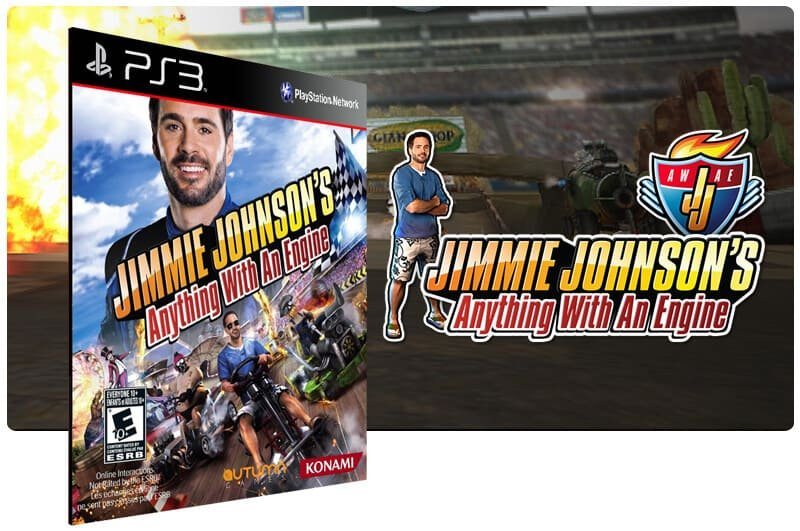 Banner do game Jimmie Johnsons Anything With An Engine para PS3